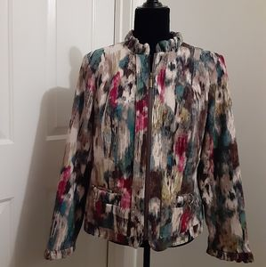 Beautiful watercolor jacket small